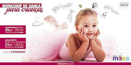 Workshop de Dança para Crianças ingressos