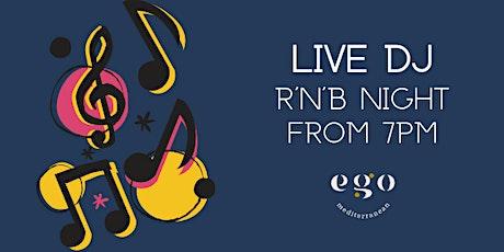 Live DJ - R'n'B Night, Bromsgrove tickets