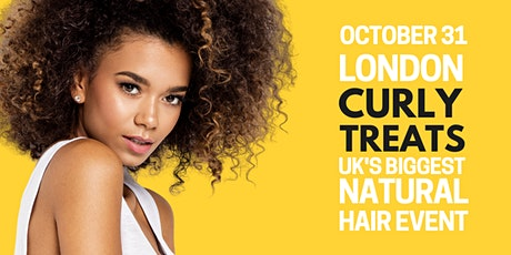 CURLYTREATS 2020 AUTUMN - Curly, Coily, Afro Hair Show | October 31 tickets