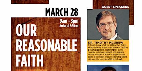 Our Reasonable Faith 2.0 tickets