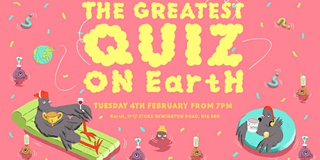 The Greatest Quiz on EartH tickets