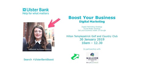 Boost Your Business - Digital Marketing tickets
