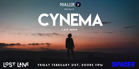 Cynema (live headline show) tickets