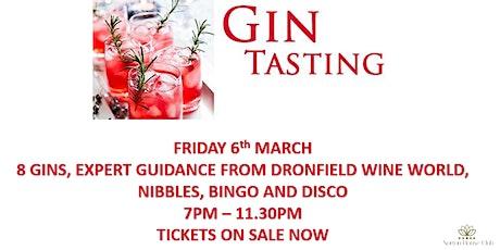 Gin Tasting Night tickets