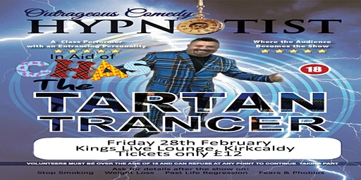 The Tartan Trancer in Aid of CHAS