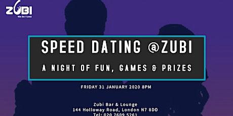 Speed Dating @Zubi tickets
