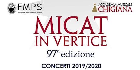 Micat in vertice. Concerto per violoncello e pianoforte biglietti