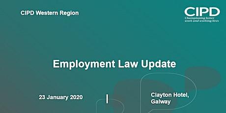 Employment Law Update – CIPD Ireland Western Region tickets