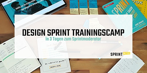 Design Sprint Trainingscamp - 3 Tage (auf Deutsch)