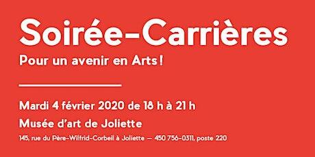 2e édition de la Soirée-Carrières, pour un avenir en Arts! billets