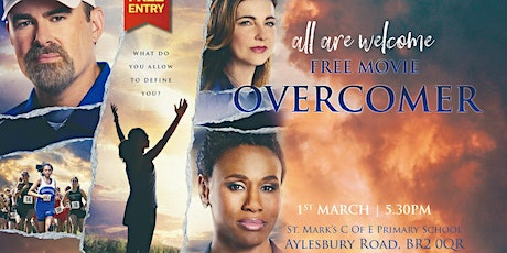 Movie Showing- Overcomer tickets