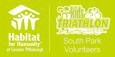 Habitat Pittsburgh's 2020 Kids Triathlon - South Park Volunteer tickets