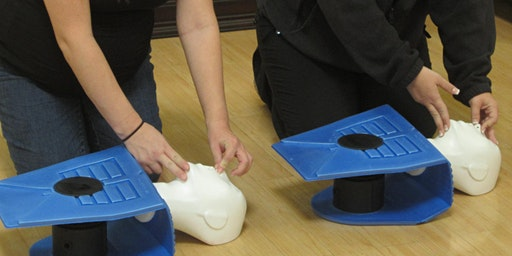 Community CPR/AED (Child, Infant and Adult certification) at St. Johns Forest