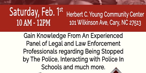 Justice Symposium: Know Your Legal Rights