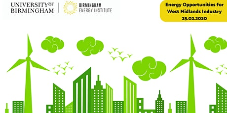 Energy Opportunities for West Midlands Industry tickets