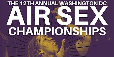 DC Air Sex Championship tickets