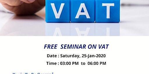 FREE SEMINAR ON VAT UPDATES