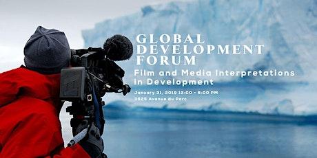 Global Development Forum 2020:  Film & Media Interpretations in Development tickets