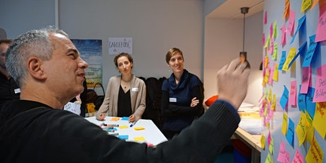 Schulentwicklungsmoderation mit Design Thinking Tickets