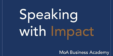 Speaking with Impact tickets