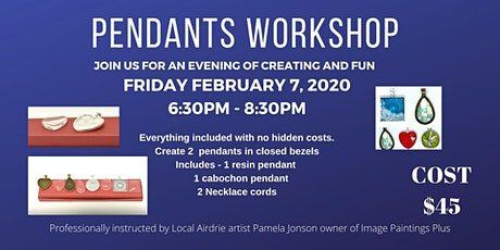 Pendants Workshop tickets