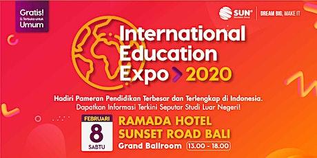 SUN International Education Expo Bali 2020 tickets