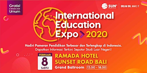 SUN International Education Expo Bali 2020