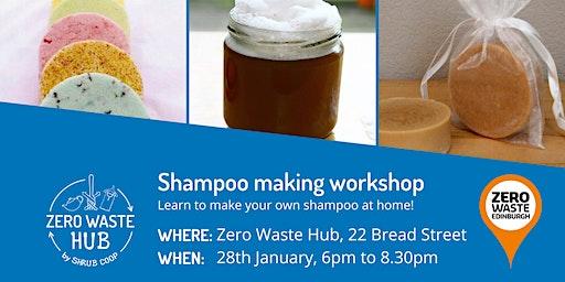 Zero Waste Shampoo workshop