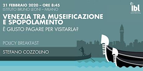 Venezia tra museificazione e spopolamento. È giusto pagare per visitarla? biglietti