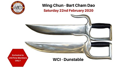 Wing Chun Butterfly Knives -  Bart Cham Dao Seminar 2020 tickets