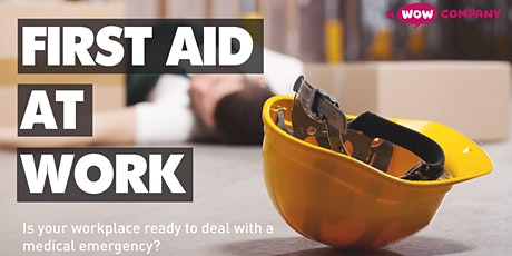 First Aid at Work Re-qualification FAW 2 Day Course tickets