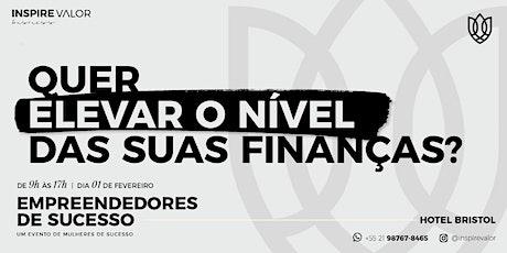 Empreendedores de Sucesso - Finanças tickets
