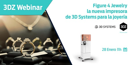 Figure 4 Jewelry, la nueva impresora de 3D Systems para la joyería. entradas
