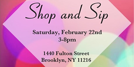 Shop and Sip at the East tickets