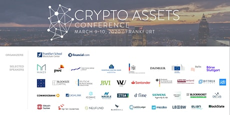 Crypto Assets Conference 2020 (CAC20) Tickets