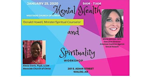 Mental Health & Spirituality:  Bridging the Gap