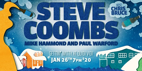 Gettin' Witty at Quidi Vidi - With Steve Coombs tickets