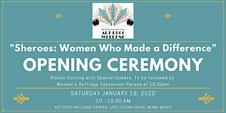 Opening Ceremony @ Art Deco Weekend tickets