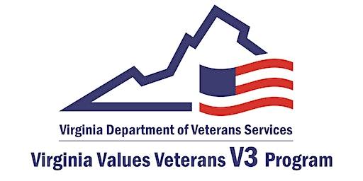 Virginia Values Veterans (V3) Employer Training Seminar