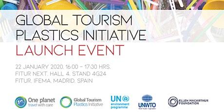 Launch of the Global Tourism Plastics Initiative  entradas