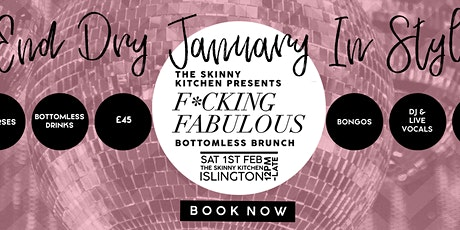 The Skinny Kitchen presents....F*ckin fabulous bottomless brunch tickets