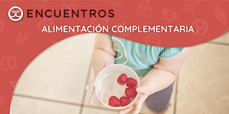 Taller de Familias - El inicio de la alimentación complementaria entradas