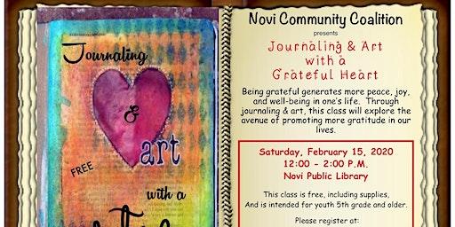 NCC's Journaling & Art with A Grateful Heart