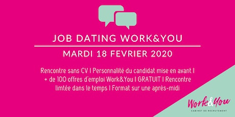JOB DATING WORK&YOU BORDEAUX tickets