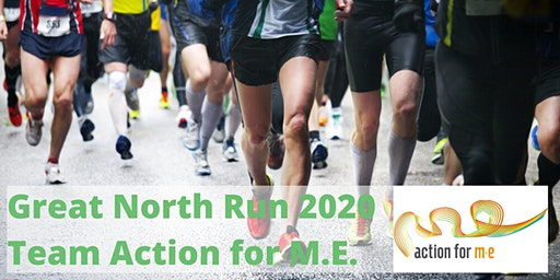 Great North Run 2020 (charity fundraising place)
