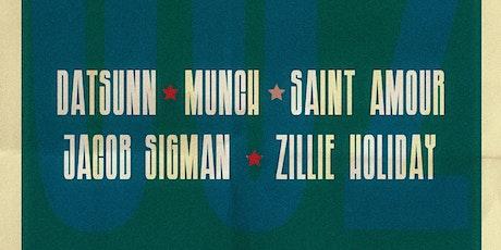 RARESOUNDS WORLD  Datsunn, Munch, Jacob Sigman, Saint Amour, Zillie Holiday tickets