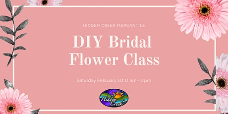 DIY Bridal Flower Class tickets