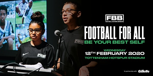 FBB ANNUAL SHOWCASE 2020: FOOTBALL FOR ALL -  'BE YOUR BEST SELF'