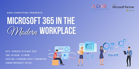 MICROSOFT 365 IN THE MODERN WORKPLACE SEMINAR tickets