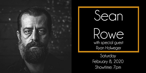Sean Rowe at The 443 with special guest Ryan Holweger
